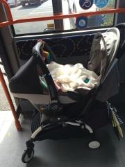 Car seat adapters on flek